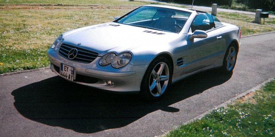 MERCEDES CLASSE SL R230 500 (Serie 1) cabriolet occasion - 28 000 €, 89 000 km