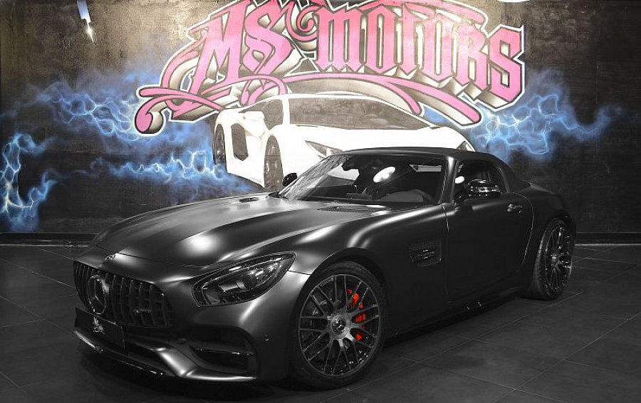 MERCEDES AMG GT C190 cabriolet occasion - 184 900 €, 2 800 km