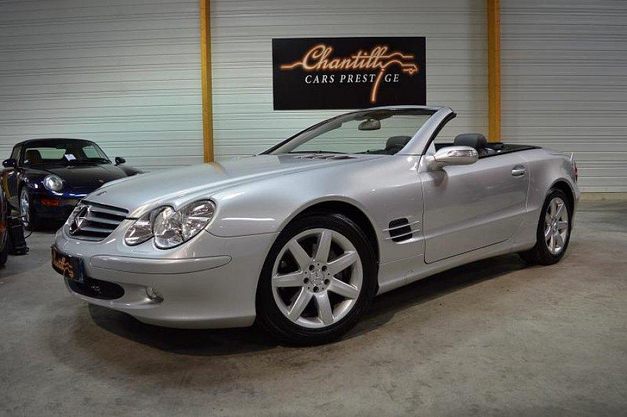 mercedes classe sl 350 245ch cabriolet gris occasion 29 900 31 500 km vente de voiture d. Black Bedroom Furniture Sets. Home Design Ideas