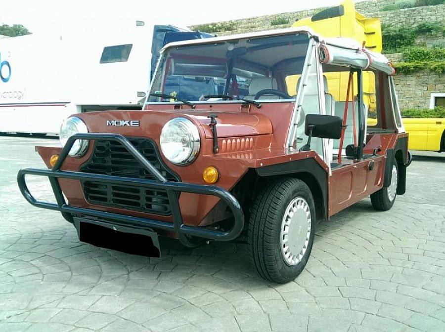 mini classique moke austin rover cabriolet rouge occasion 13 900 21 000 km vente de. Black Bedroom Furniture Sets. Home Design Ideas