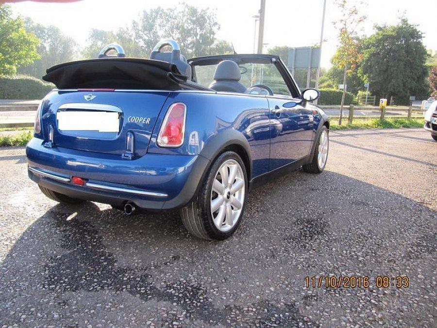Mini Cabriolet R52 Cooper Conduite à Droite Cabriolet Bleu Occasion