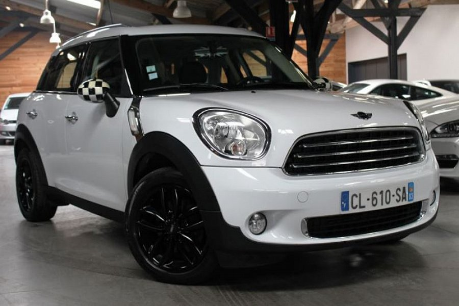 mini countryman r60 one d break blanc occasion 13 890 71 000 km vente de voiture d. Black Bedroom Furniture Sets. Home Design Ideas