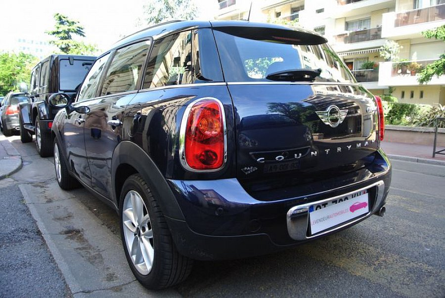 mini countryman r60 cooper d red hot chili suv bleu fonc. Black Bedroom Furniture Sets. Home Design Ideas