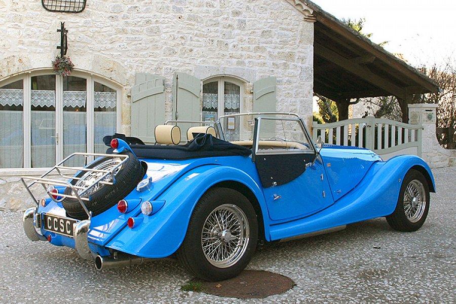 morgan 4 4 1 6 haute sp cification cabriolet occasion 53 950 9 000 km vente de voiture d. Black Bedroom Furniture Sets. Home Design Ideas