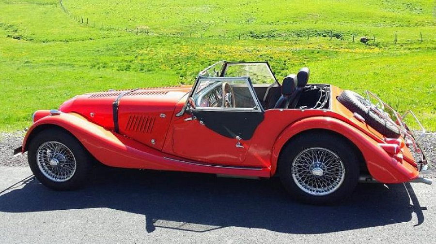 MORGAN 4-4 1600 Twin Cam cabriolet Rouge occasion - 28 500 €, 78 000 km