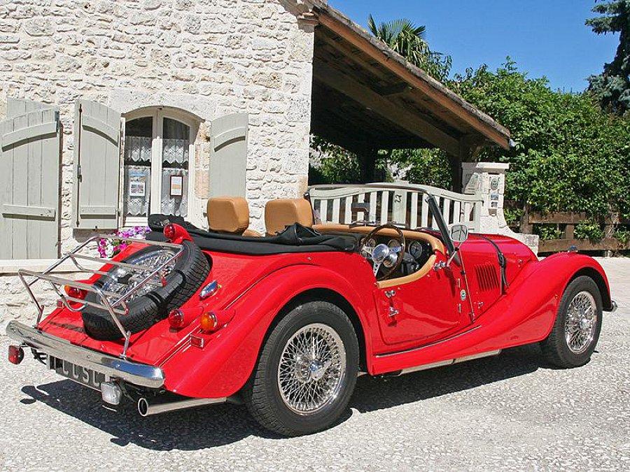 morgan 4 4 1 8 cabriolet rouge occasion 35 500 8 500. Black Bedroom Furniture Sets. Home Design Ideas