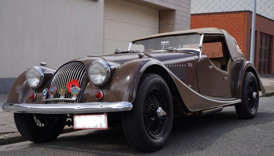 morgan 4 4 1600 cabriolet marron occasion 32 500 34. Black Bedroom Furniture Sets. Home Design Ideas