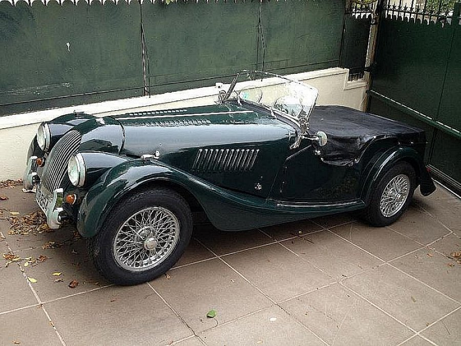 morgan plus 4 tr4 tourer cabriolet vert fonc occasion 30 000 84 000 km vente de. Black Bedroom Furniture Sets. Home Design Ideas