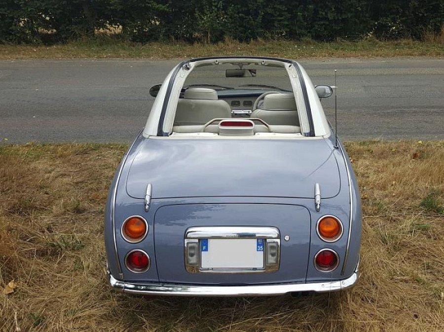 nissan figaro cabriolet bleu clair occasion 13 500 95 600 km vente de voiture d 39 occasion. Black Bedroom Furniture Sets. Home Design Ideas