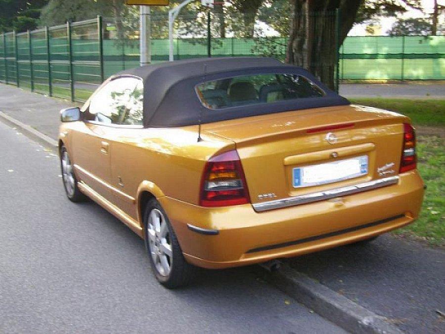 OPEL ASTRA G 1.6i 16V pack Bertone cabriolet Orange ...