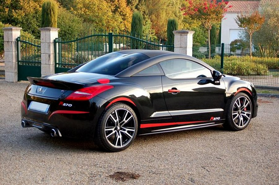 peugeot rcz r 1 6 thp 270 ch blackline coup noir occasion 30 000 35 000 km vente de. Black Bedroom Furniture Sets. Home Design Ideas