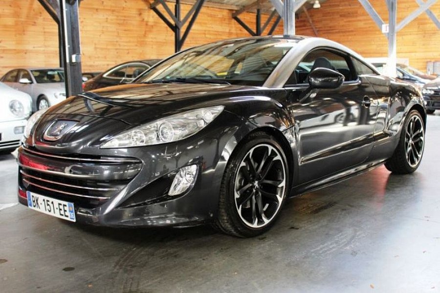 peugeot rcz 1 6 thp 156 ch bvm6 coup noir occasion 17. Black Bedroom Furniture Sets. Home Design Ideas