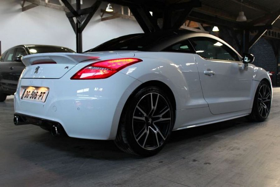 peugeot rcz r 1 6 thp 270 ch coup blanc occasion 28 390. Black Bedroom Furniture Sets. Home Design Ideas