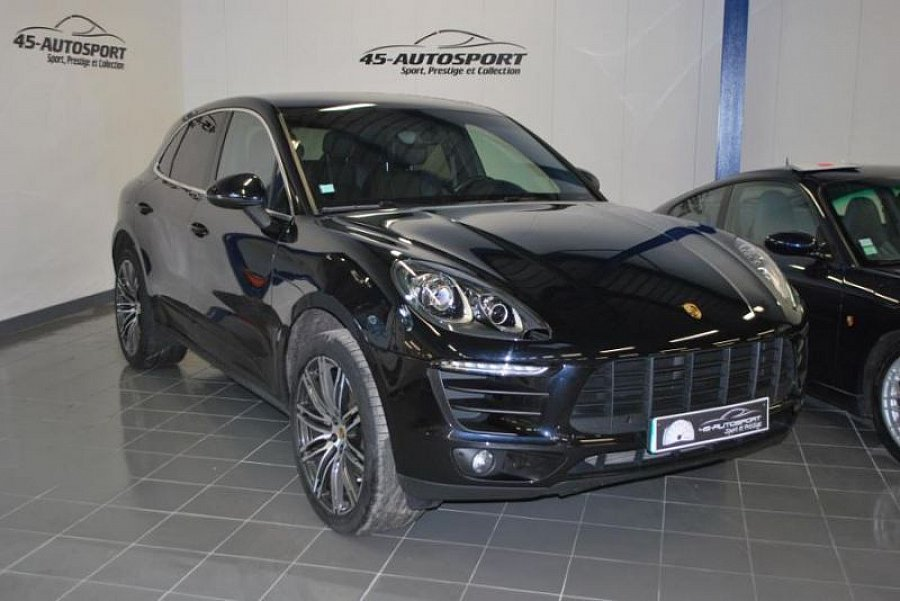 porsche macan s diesel 258 ch suv noir occasion 72 990 34 928 km vente de voiture d. Black Bedroom Furniture Sets. Home Design Ideas