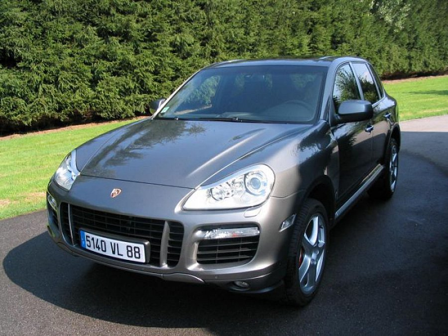 porsche cayenne i 957 turbo 4 8 v8 suv gris fonc occasion 24 000 153 500 km vente de. Black Bedroom Furniture Sets. Home Design Ideas