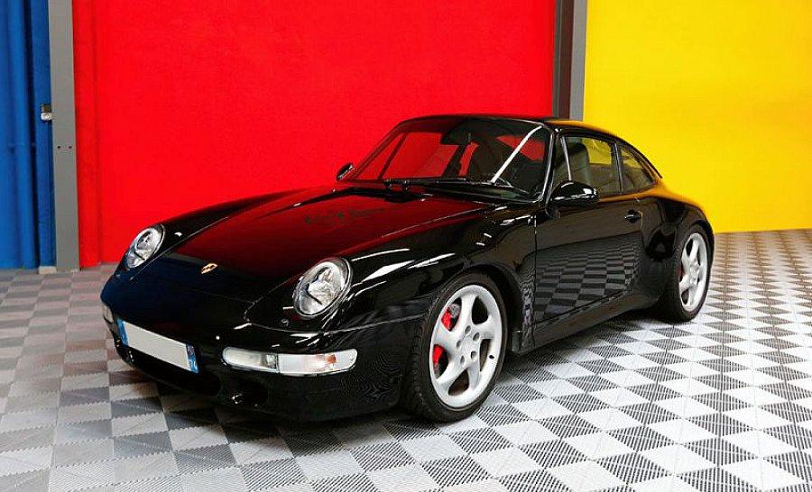 porsche 911 993 carrera 4s 3 6 coup noir occasion 89 000 106 000 km vente de voiture d. Black Bedroom Furniture Sets. Home Design Ideas