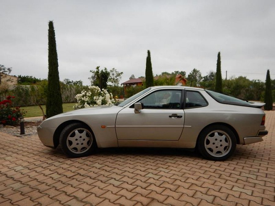 PORSCHE 944 Turbo 2.5 250 ch coupé Gris clair occasion - 21 000 €, 165 095 km