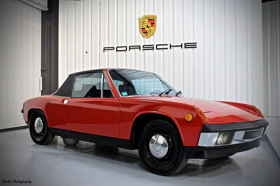 porsche 914 1 8l coup rouge occasion 19 999 78 000 km vente de voiture d 39 occasion. Black Bedroom Furniture Sets. Home Design Ideas