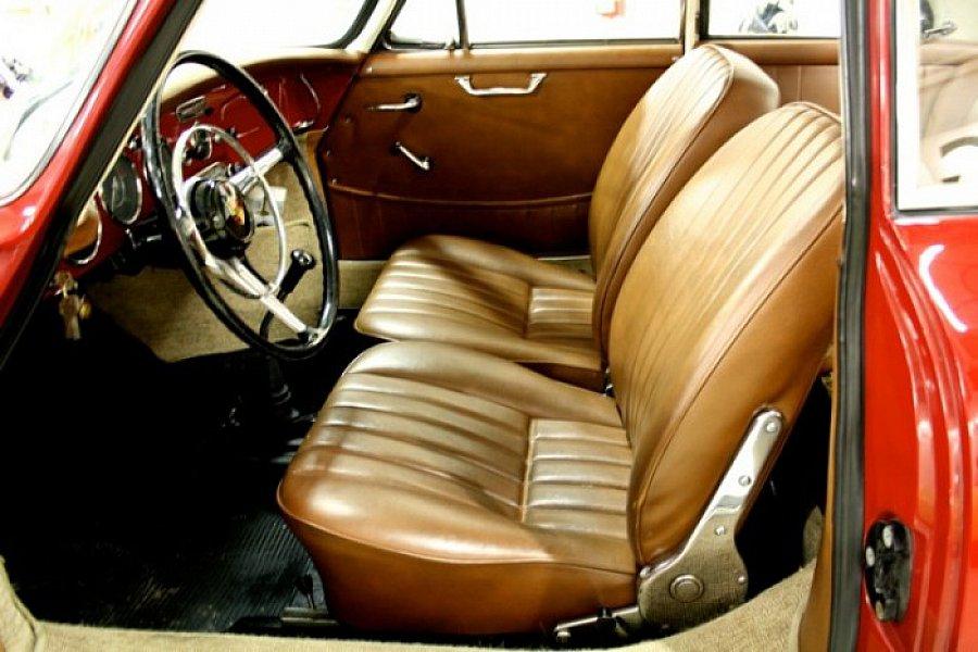 porsche 356 b 1600 toit ouvrant coup bordeaux occasion 0 0 km vente de voiture d. Black Bedroom Furniture Sets. Home Design Ideas