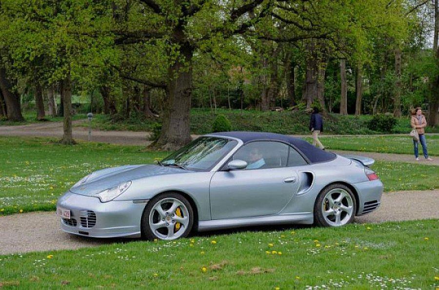 porsche 911 996 turbo s 450ch cabriolet gris occasion 75 000 88 600 km vente de. Black Bedroom Furniture Sets. Home Design Ideas