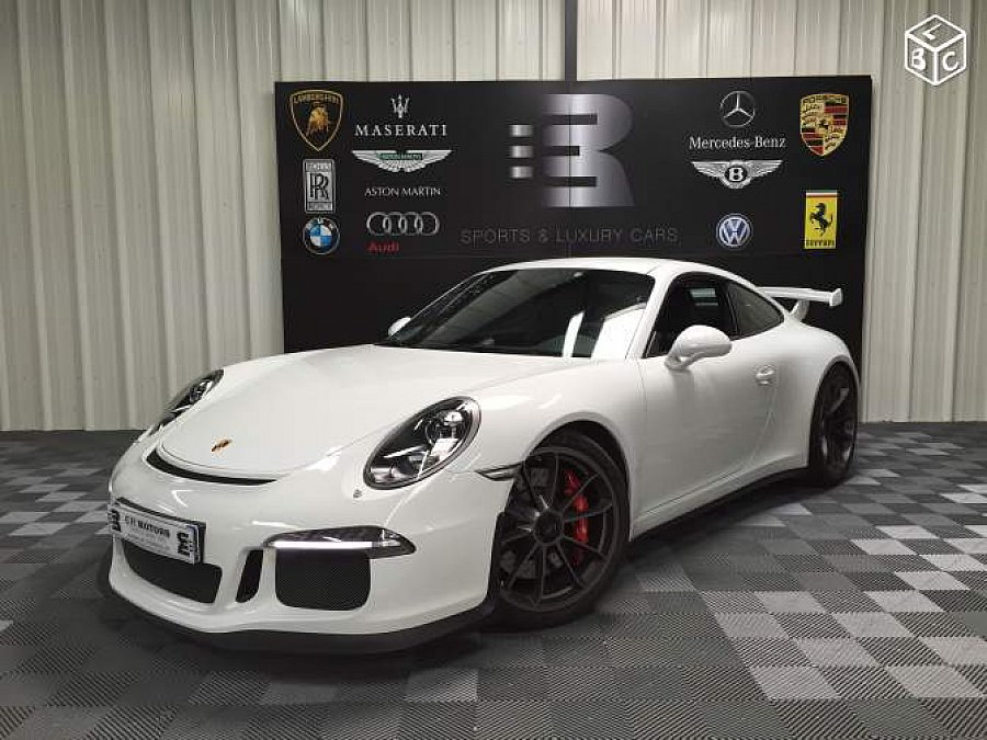 porsche 911 991 gt3 3 8 475 ch coup occasion 169 900 9 950 km vente de voiture d. Black Bedroom Furniture Sets. Home Design Ideas