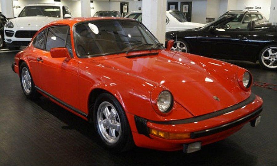 porsche 911 g 2 7 s coup rouge occasion 34 985 152 168 km vente de voiture d 39 occasion. Black Bedroom Furniture Sets. Home Design Ideas