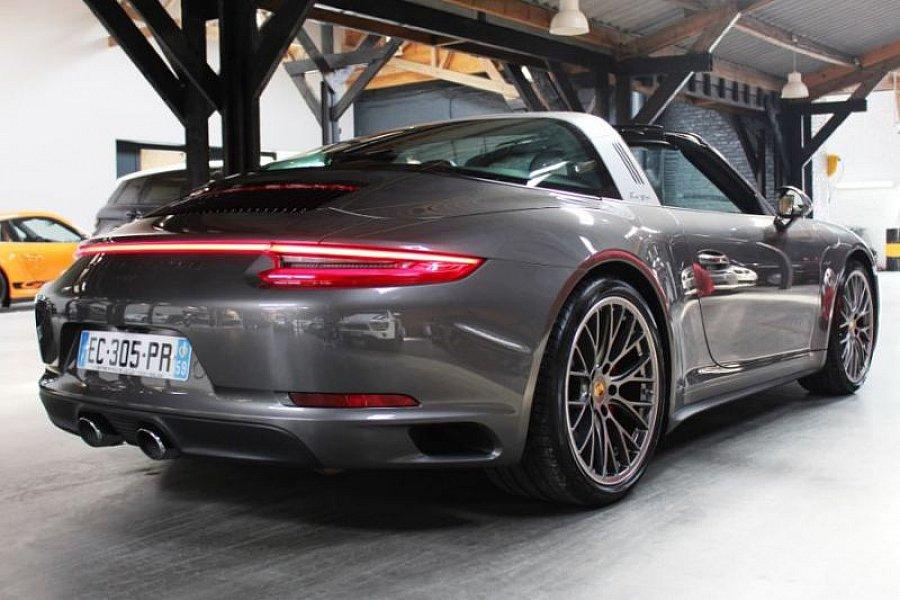 porsche 911 991 targa 4s 3 0 420 ch cabriolet gris. Black Bedroom Furniture Sets. Home Design Ideas
