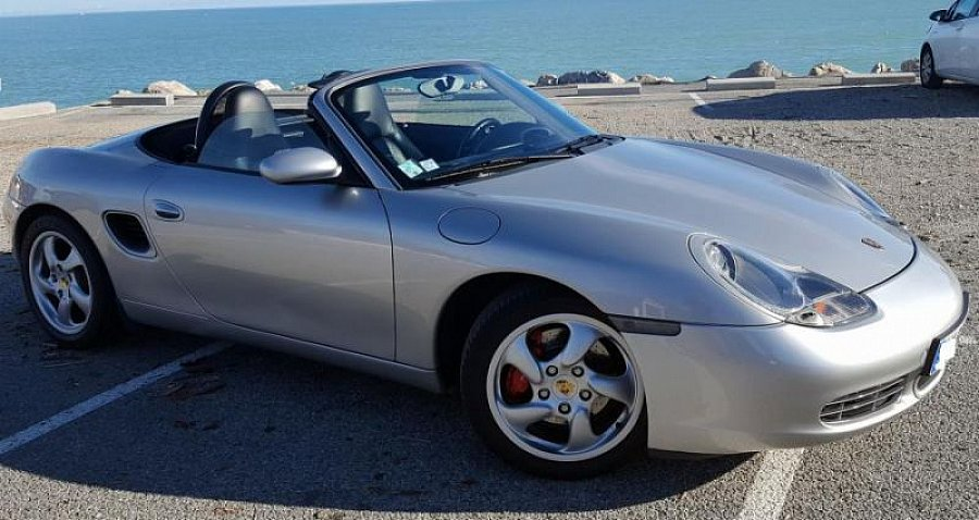 porsche boxster 986 s 252ch cabriolet gris clair occasion 19 500 58 000 km vente de. Black Bedroom Furniture Sets. Home Design Ideas