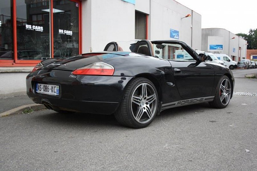 porsche boxster 986 s 252ch tiptronic cabriolet noir occasion 14 900 129 000 km. Black Bedroom Furniture Sets. Home Design Ideas