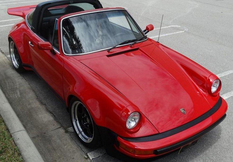 porsche 911 g s 2 7 targa targa rouge occasion 41 740. Black Bedroom Furniture Sets. Home Design Ideas