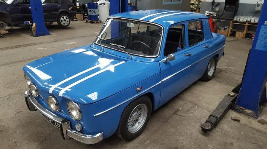 renault r8 gordini 1300 berline bleu occasion 48 000 26 954 km vente de voiture d. Black Bedroom Furniture Sets. Home Design Ideas