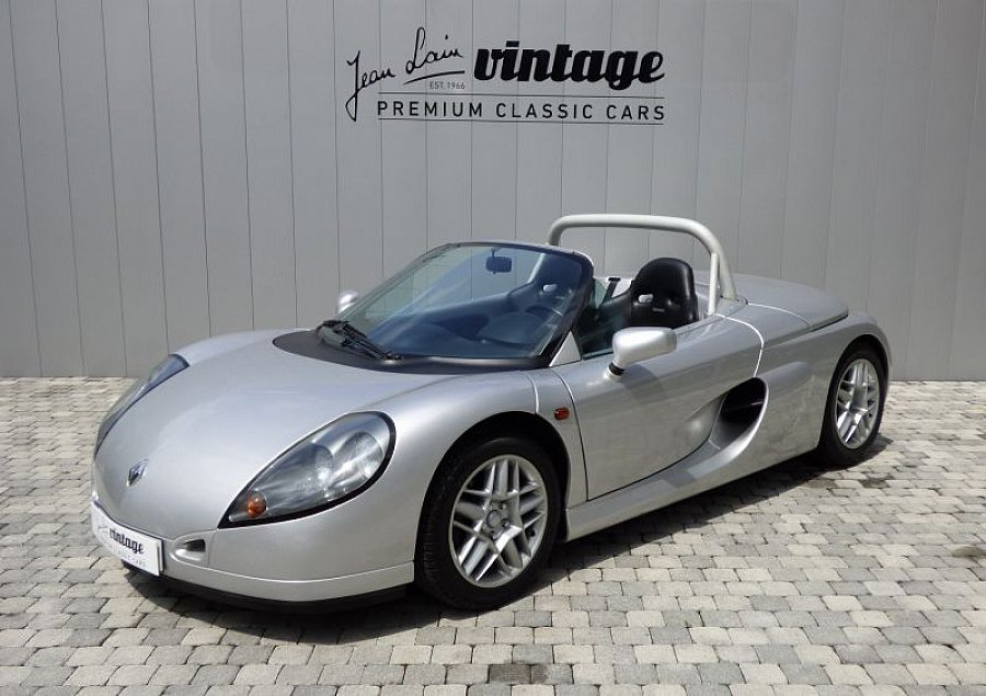 renault spider 2 0 150 ch cabriolet gris occasion 49 900 3 400 km vente de voiture d. Black Bedroom Furniture Sets. Home Design Ideas
