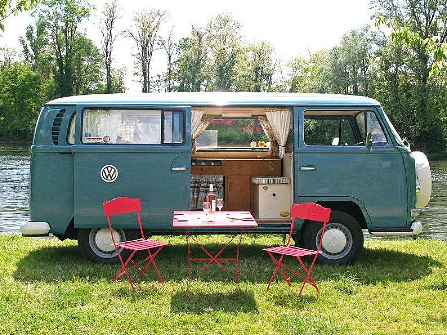 volkswagen combi t2 campervan monospace bleu occasion 22 950 59 000 km vente de voiture. Black Bedroom Furniture Sets. Home Design Ideas