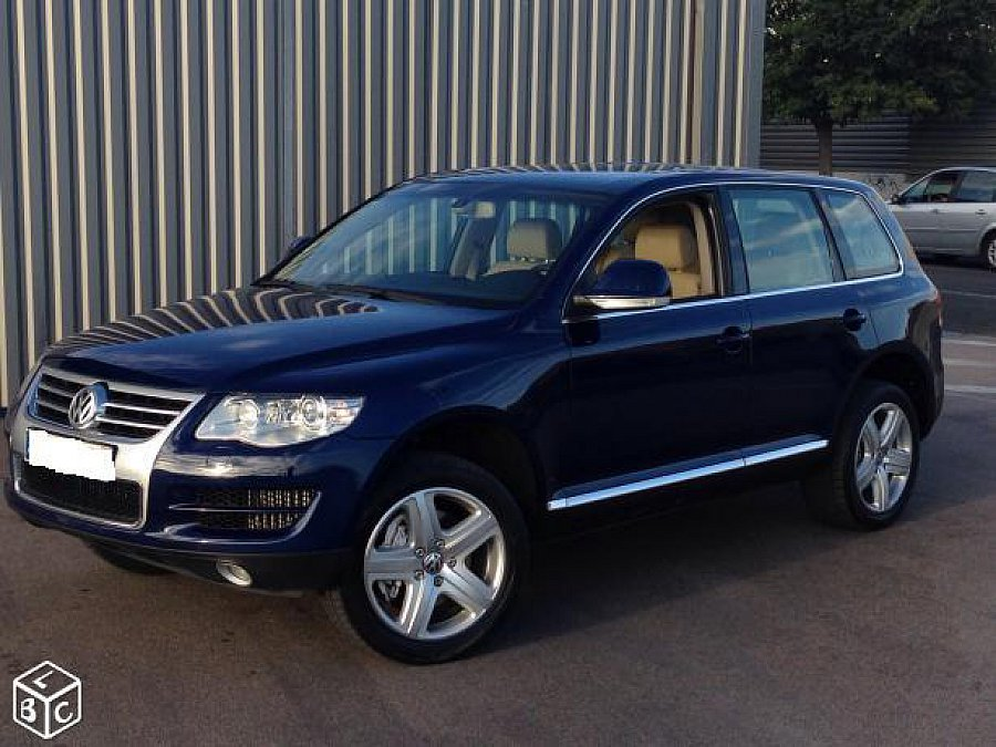 volkswagen touareg i 5 0 v10 tdi 313ch edition tiptronic suv bleu occasion 17 500 108 000. Black Bedroom Furniture Sets. Home Design Ideas