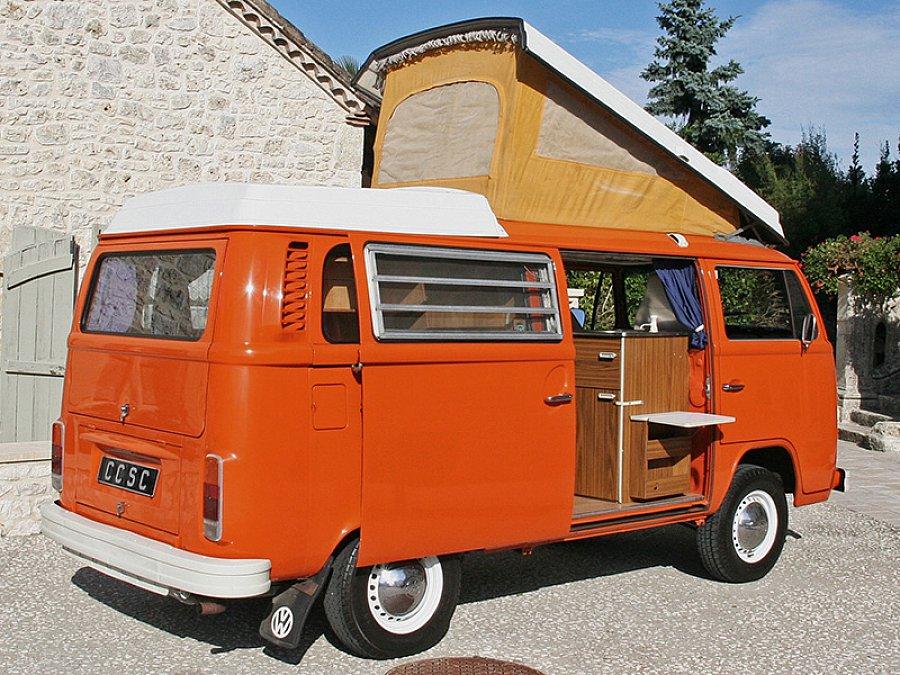 volkswagen combi t2 westfalia monospace orange occasion. Black Bedroom Furniture Sets. Home Design Ideas