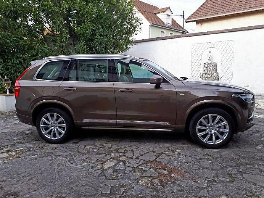 VOLVO XC90 II T8 EXCELLENCE SUV Marron clair occasion - 71 000 €, 19 133 km