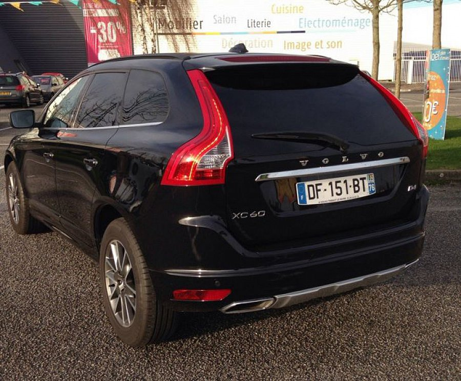 volvo xc60 d4 181ch momentum 4x4 noir occasion 36 000 7 680 km vente de voiture d. Black Bedroom Furniture Sets. Home Design Ideas