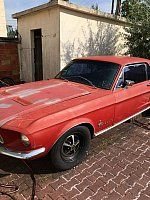 FORD MUSTANG I (1964-73) 4.7L V8 (289 ci) c code coupé Rouge occasion - 12 999 €, 40 000 km